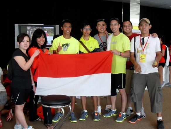 Nike+ Human Race 10K - Indonesia Team