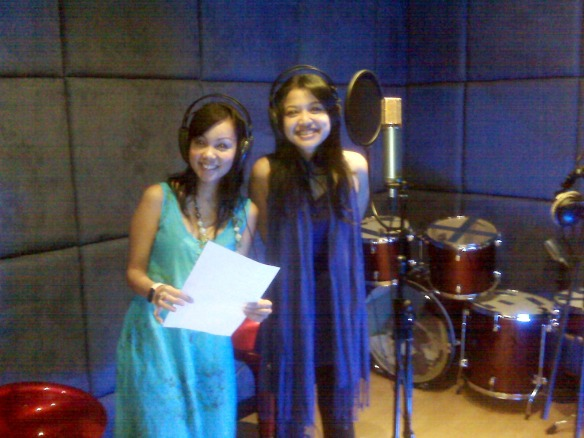 Me and Erin in The Studio