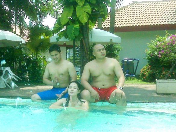 Edwyn, Veni and Tiko - the models !
