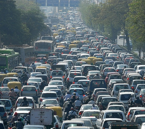 traffic jam in jakarta Traffic congestion has been the biggest problem faced by jakarta for decades what would be the best solution to solve it.