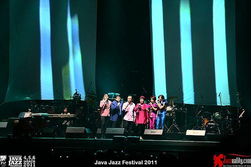 Elfa Secioria at Java Jazz Festival 2011