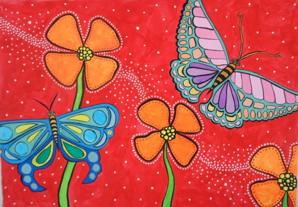 Butterflies In the Sun by Lolo Sianipar