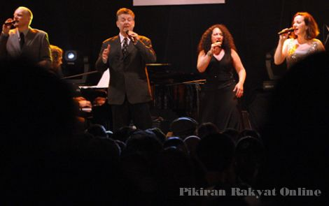 New York Voices at Java Jazz Festival 2011