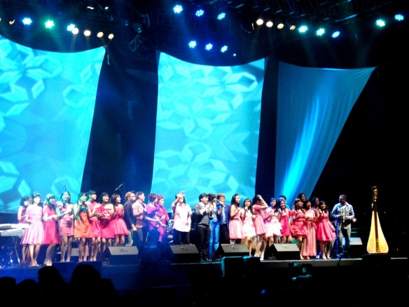 All Elfa Secioria Performer on Java Jazz Festival 2011