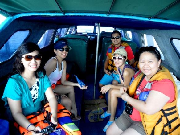Derawan trip - on the boat