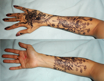 Lolo's henna tattoo