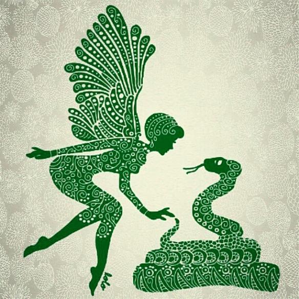 Lolo's Doodle: Perhaps Lofe Elf & Python
