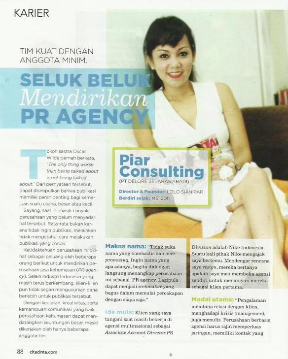 piar consulting on cita cita page 1