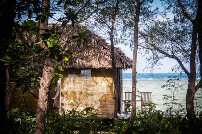 Pulau Macan: our hut